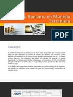 Certificado Bancario en Moneda Extranjera