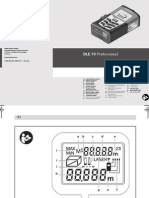 Manual Trena Bosch DLE 70