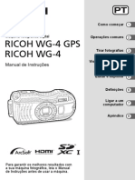 Manual camera Ricoh Wg4 Gps Opm Pt