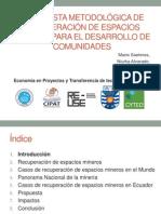 Economía en Proyectos y Transferencia de tecnología.