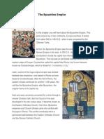 the byzantine empire text