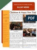 ELCAP E-Newsletter Issue 29 - Jan 2015