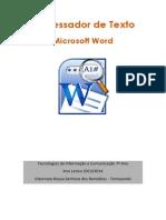Manual Do Processador de Texto (WORD) - Versão 2003