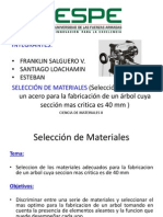 Seleccion de Materiales
