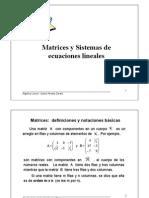 Alg Lineal - Matrices y Sistemas Con LU