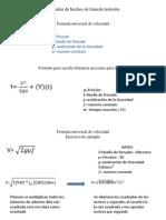 Formulas de Hechos de Transito Terrestre