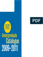 FIT Undergraduate Catalog 09-11