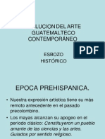 Esbozo Historico Pintura Guatemalteca