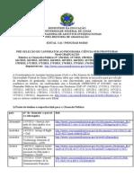 UFG Edital CsF