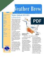 Winter Outlook 2012 - 2013 NOAA