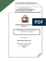 Informe de Practicas Final de Finales Rosmery x. Mamani Condori