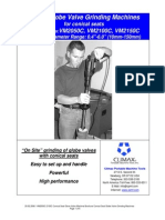VM2050C 2150C Conical Seat Globe Valve Machine Brochure