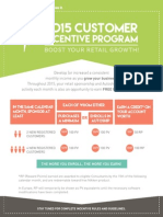 2015 Customer Incentive Program Rules