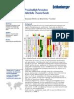 1 Clastic ADT WBM FMI Saturation Gas Nile Delta