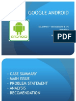 Google Android Case Study