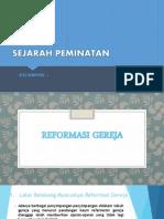 Sejarah reformasi gereja