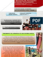 Fundamentos de La Enseñanza y Aprendizaje de l2