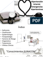 5.- Hipertensión Arterial y Emergencias Hipertensivas - LCalderon