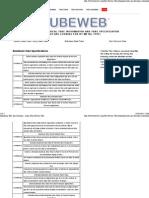 Aluminum Tube Specifications - Astm _ Non-Ferrous Tube