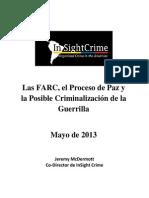 Farc Paz Crimen