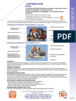 01- Interruptores Automaticos Termomagneticos Serie 4001_rev 3