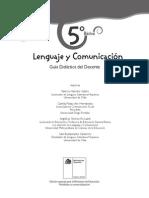 5° Básico - Lenguaje y Comunicación - Profesor - 2014.pdf