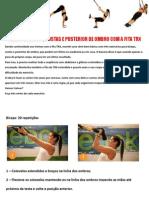 Treino de Bíceps, Costas e Posterior de Ombro Com a Fita TRX