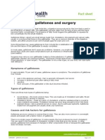 Gallbladder - Gallstones and Surgery