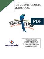 Manual de Cosmetologia Artesanal