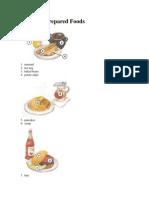 Common Prepared Foods
