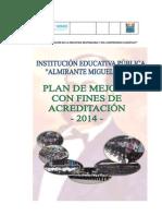 Plan de Mejora Con Fines de Acreditacion