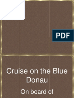 A Cruise on the Blue Donau