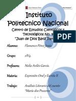 Análisis Literario Del Análisis Literario del cuento María dos Prazeres
