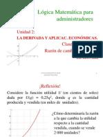 2.1_La derivada_Razon de cambio.ppt