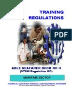 003 TR Able Seafarer Deck NC II (II-5)