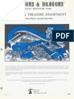 TSR 9047 Monster and Treasure Assortment Sets 1-3 (Level 1-9) (2nd Printing)