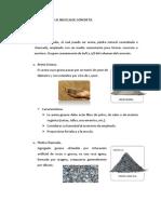 Elaboración de La Mezcla de Concreto