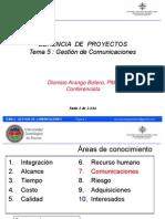 gerencia de proyectos  comunicaciones