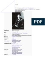 Srinivasa Ramanujan Biography In Telugu Pdf