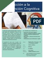 introducción a la intervención cognitiva