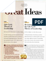 Hersey and Blanchards Situational Leadership Theory
