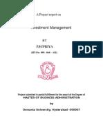 Investment Management.doc