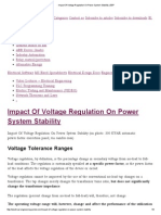 Impact of Voltage Regulation on Power System Stability _ EEP