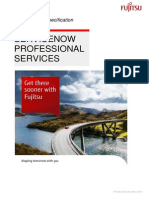 Fujitsu_Lot 4_Service Now Professional Service