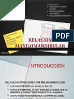 Relación Maxilomandíbular
