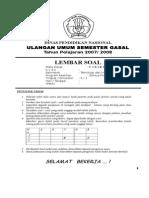 SOAL UUB KELAS X SEM 1 TH 2007.doc