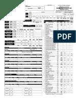 Ficha de Ladino em D&D