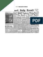 外星人訪談(1947 年羅斯威爾事件).docx