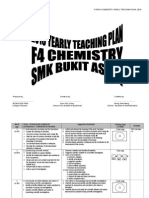 Form 4 Chemistry Yearly Plan 2015 ithink