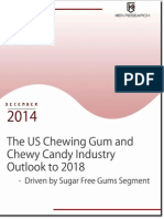 Market Share US Chewing Gum and Chewy Candy Industry